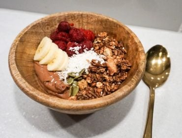 vegansk smoothiebowl