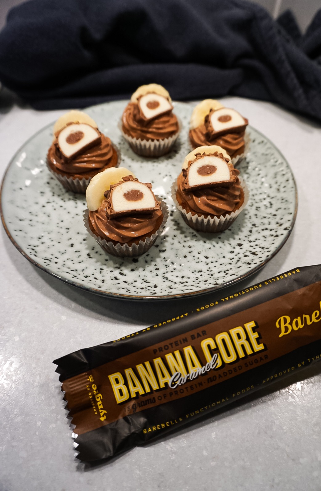 proteinrika cupcakes
