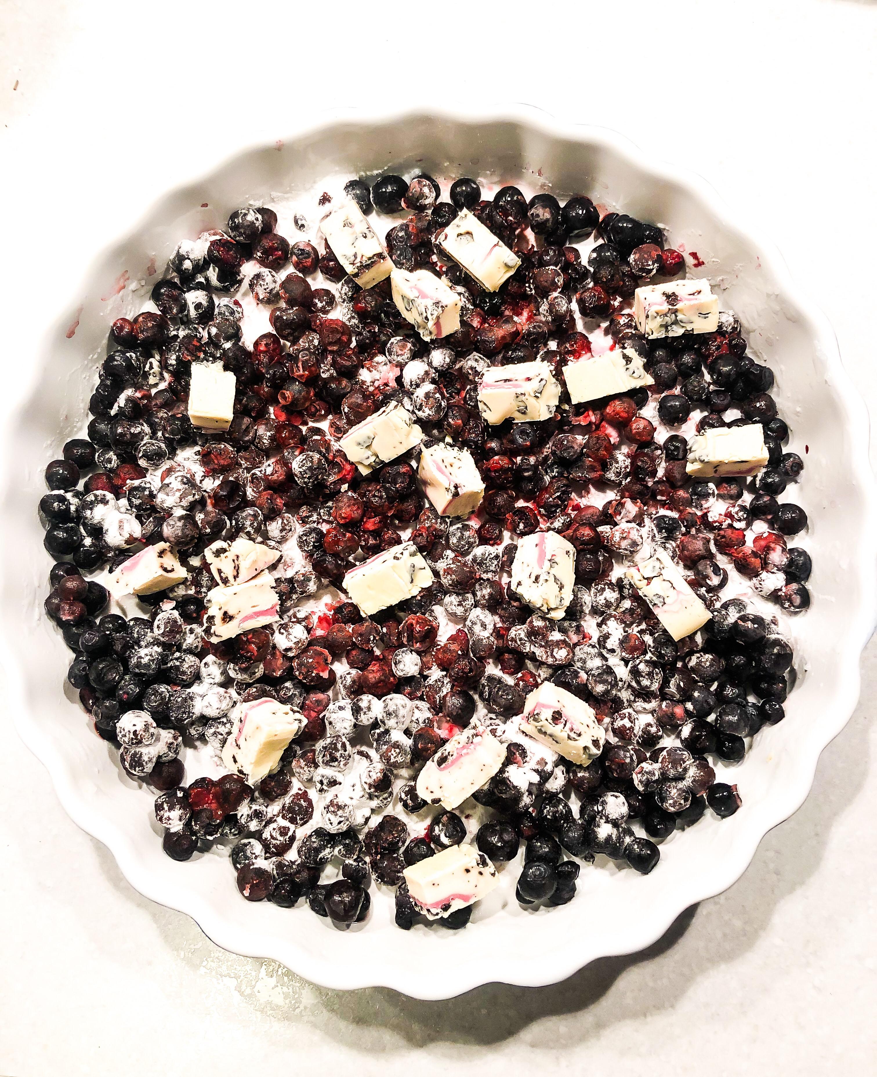 sockerfri smulpaj blåbär