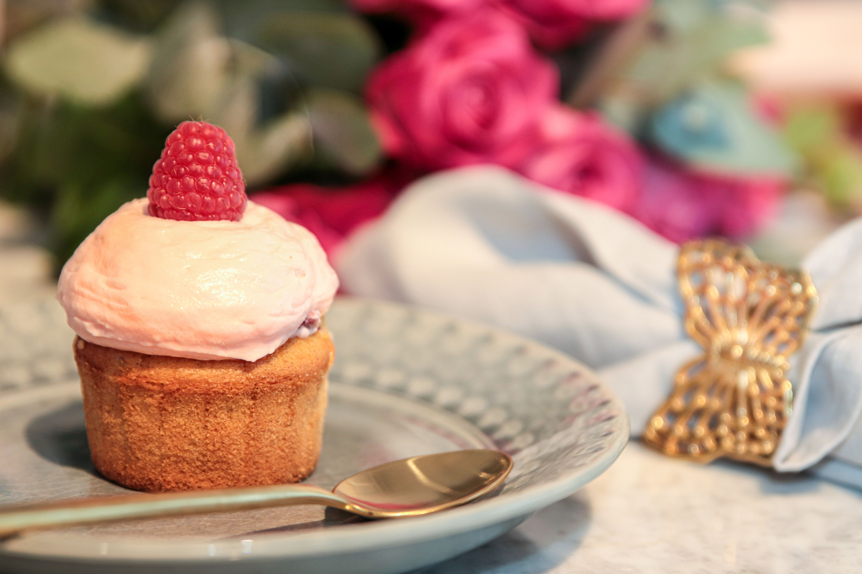 Sockerfria halloncupcakes