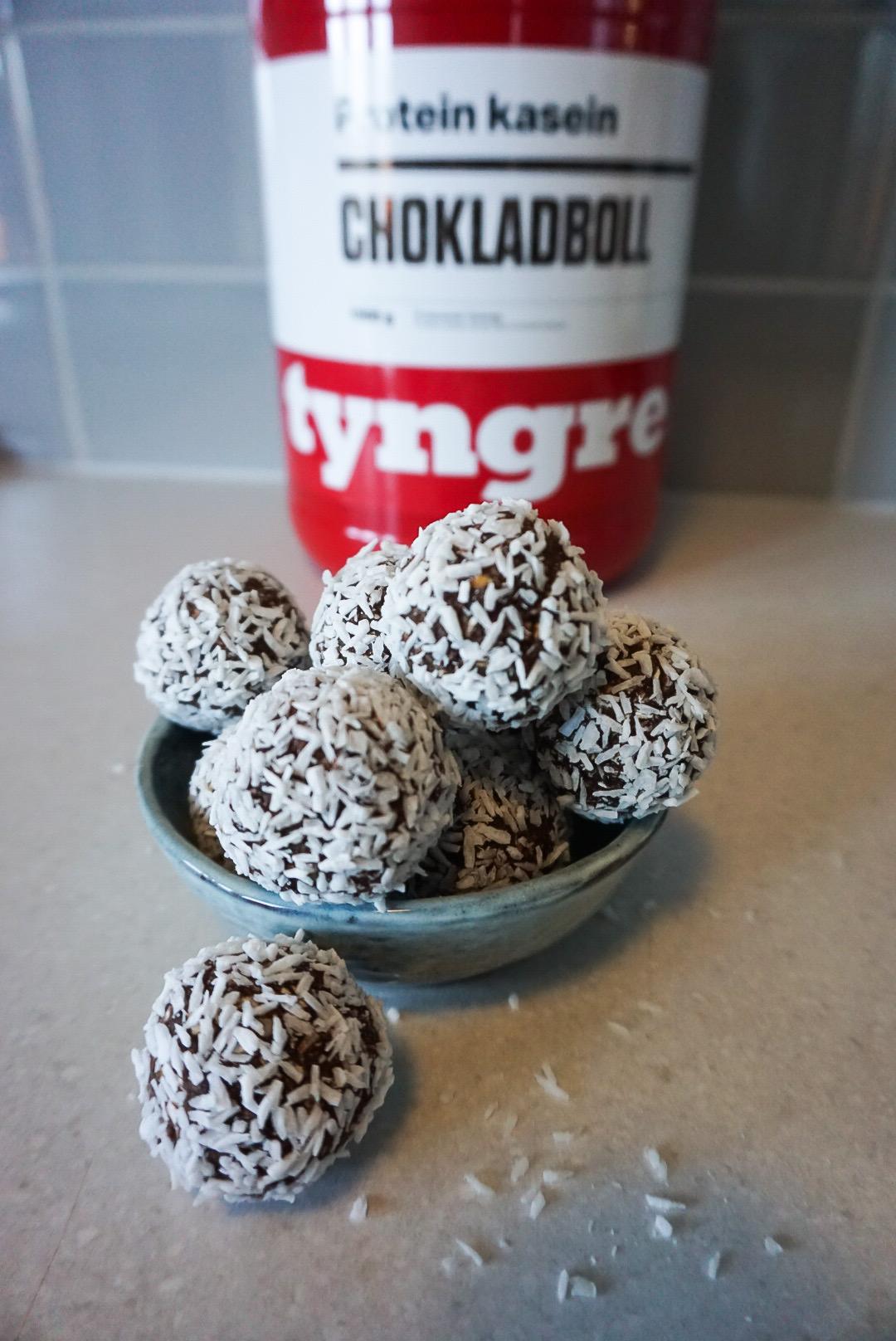 tyngre chokladbollar