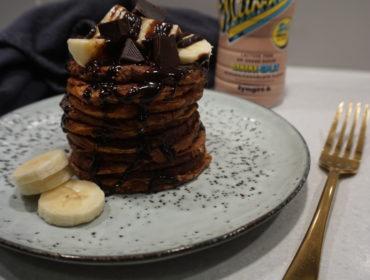 proteinpannkakor bananasplit