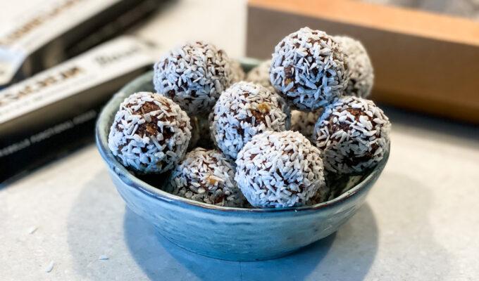 Proteinrika chokladbollar