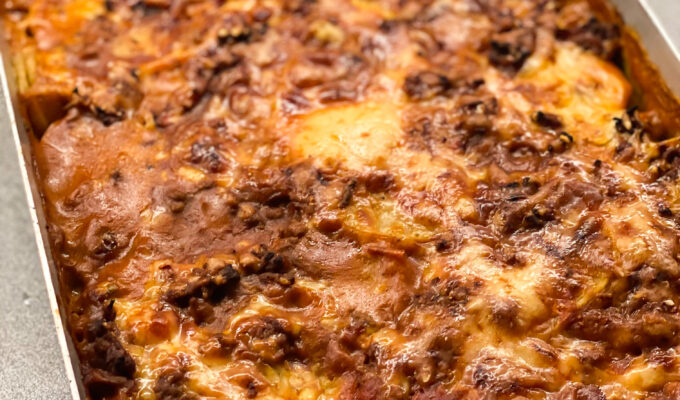 moussaka potatis
