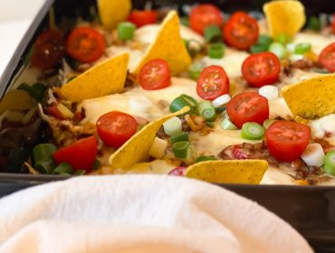 vegetarisk tacolåda