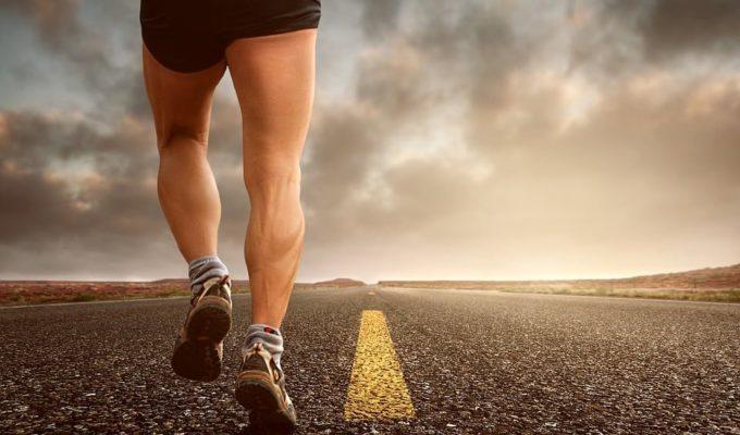träning, springa