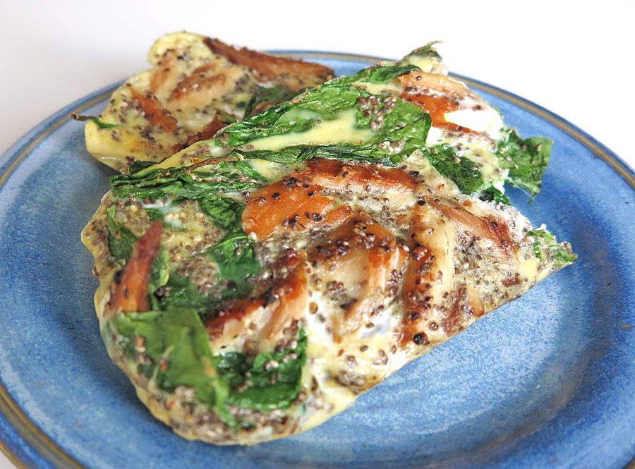 fiskpudding med chiafrön