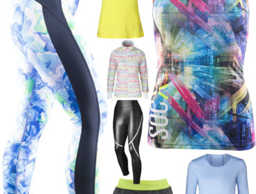 Träningskläder med färg /trendotranings.se