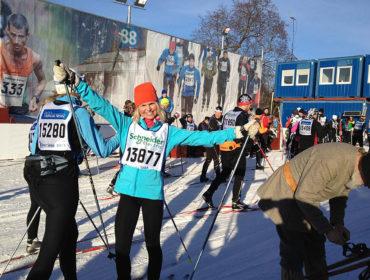 Mål Vasaloppet Öppet Spår 2013/Anna Lissjanis