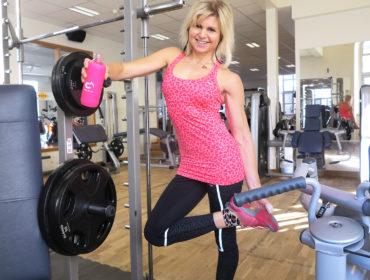 Anna Lissjanis på gymmet