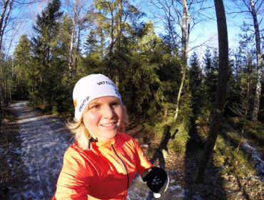 Anna Lissjanis springer långpass.