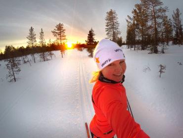 Längdskidor i Sälen /Anna Lissjanis