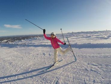 Dansaren på skidor /Anna Lissjanis