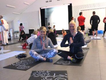 Yoga med Anna Lissjanis & Milla Åkerlund,