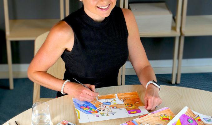 Anna Lissjanis, barnboksillustratör.