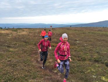 Löpning på Högfjället /Anna Lissjanis