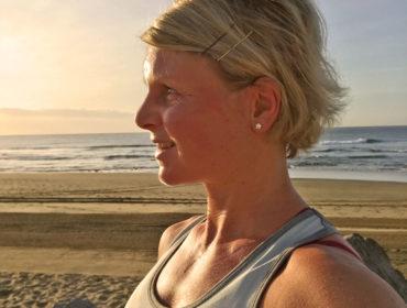Anna Lissjanis - löpning i soluppgång