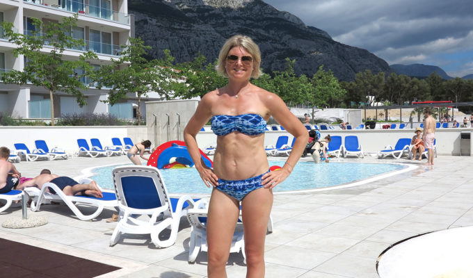Anna Lissjanis i Sunkini bikini