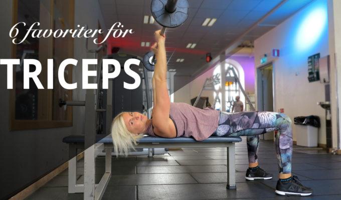 övningar för triceps