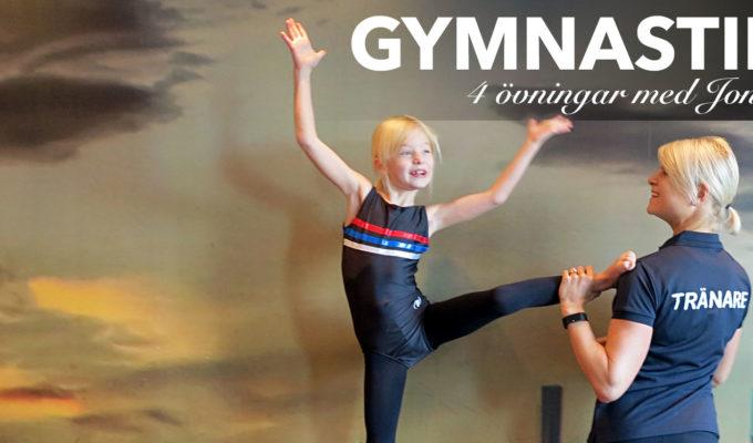 träna gymnastik