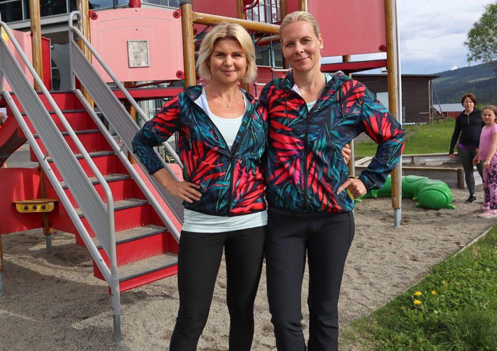 frisk och stark familj Anna Lissjanis Milla Åkerlund