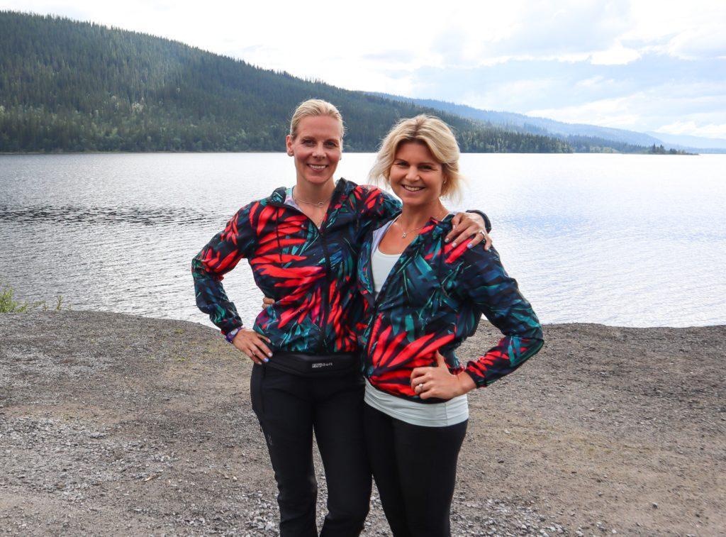 frisk och stark familj - Anna Lissjanis och Milla Åkerlund