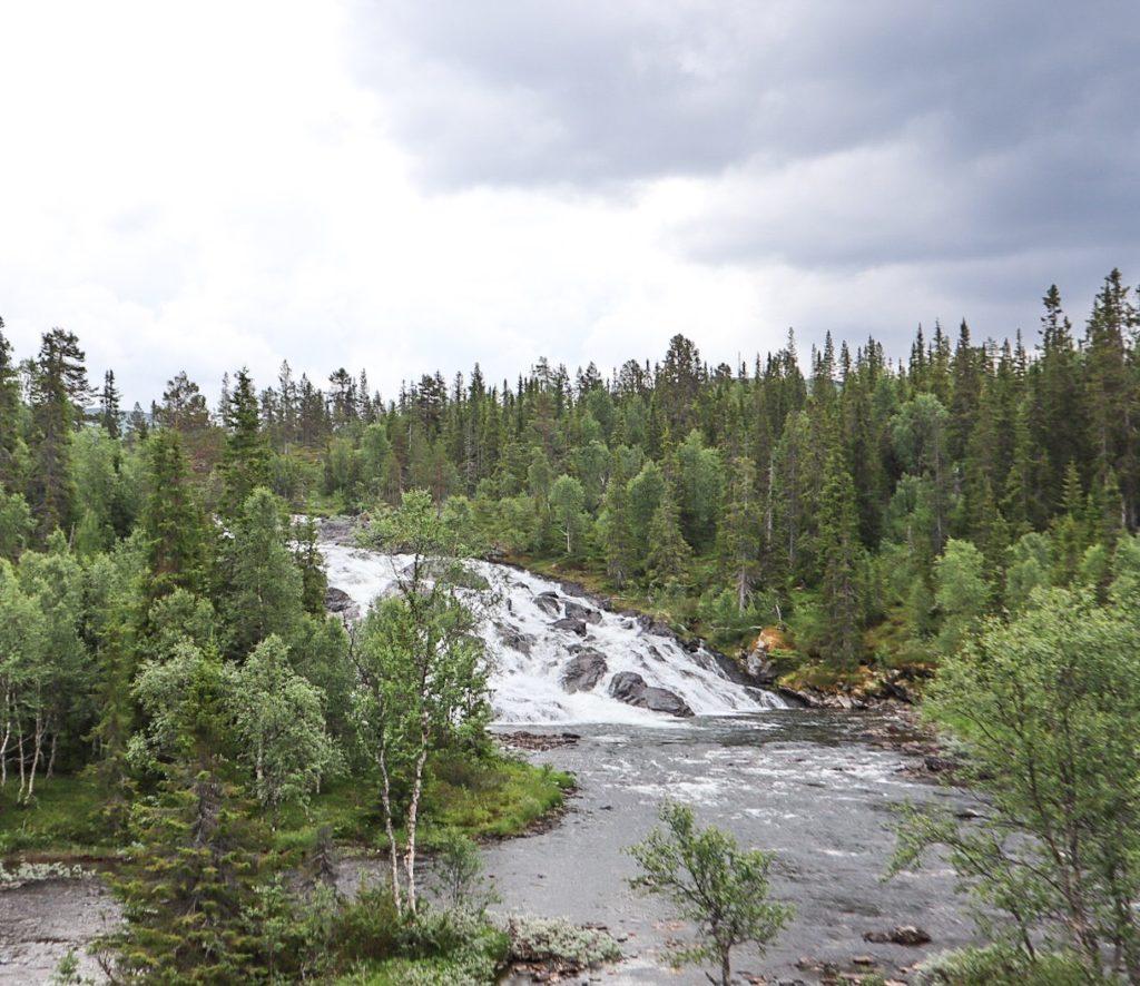 vattenfall i frostviken, lejarfallet