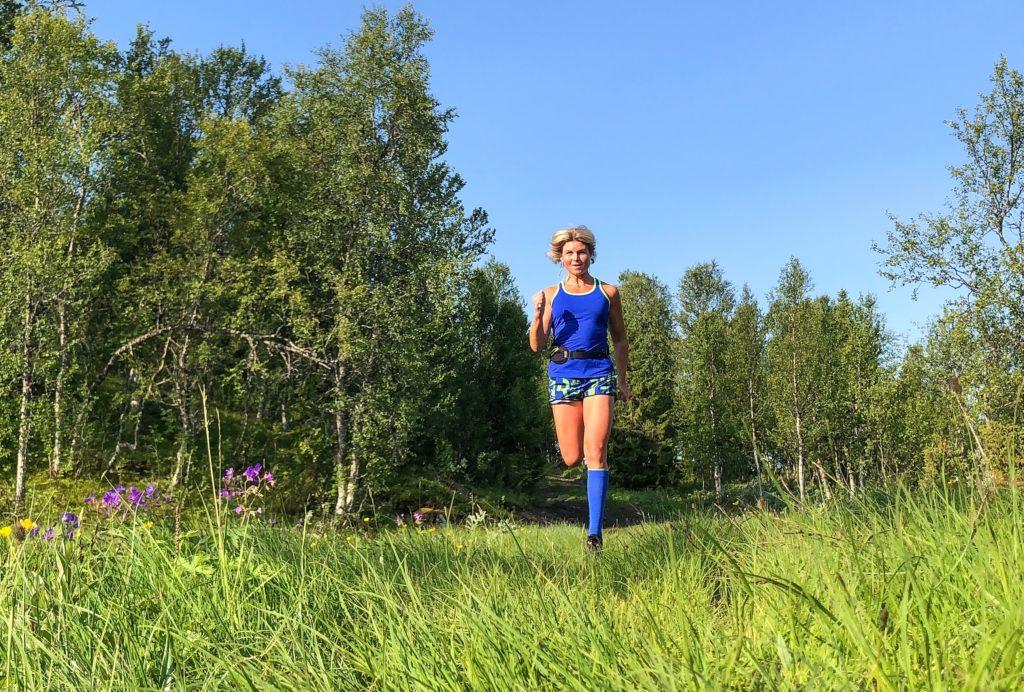 löpning Anna Lissjanis Kvarntjärnsvägen