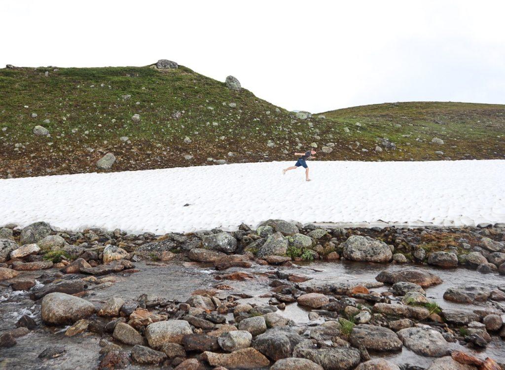 vildmarksvägen, stekenjokk, snö
