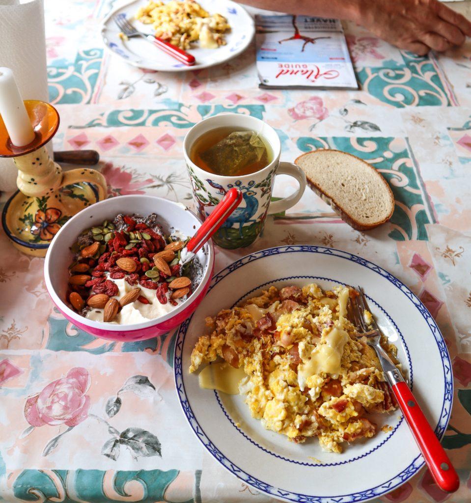 frukost, snäckö, Åland