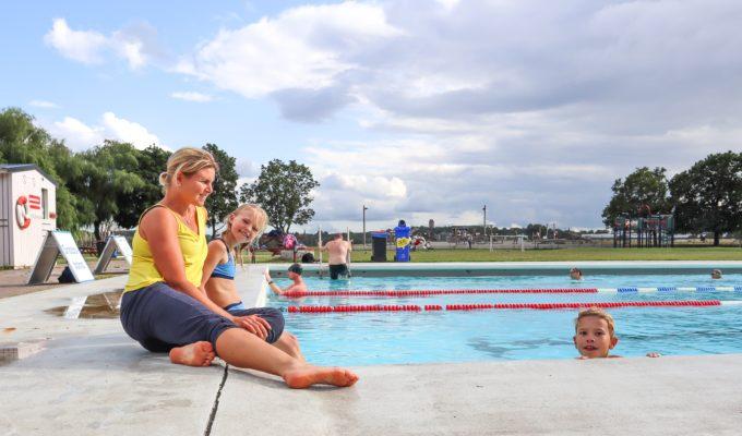 anna Lissjanis, barnen, kampementsbadet