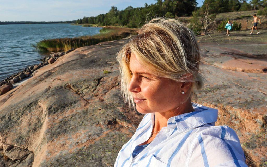 Anna Lissjanis, Snäckö, Åland