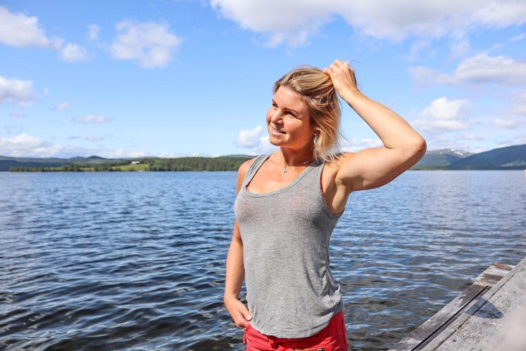 Anna Lissjanis, Jorm, sjön, sommar 2019
