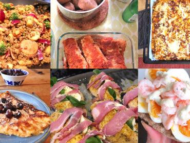 veckans matsedel