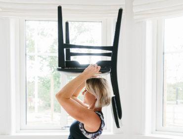 träna med en stol