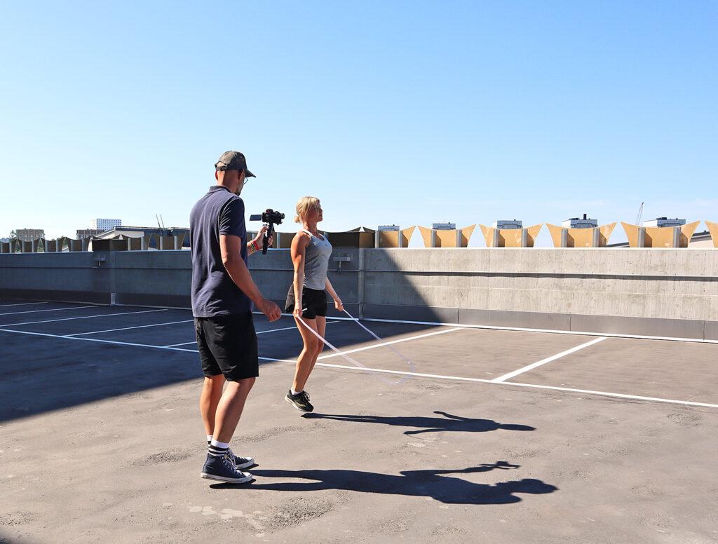 Svettiga dagar och udda träningspass – helgen ur mobilen #101
