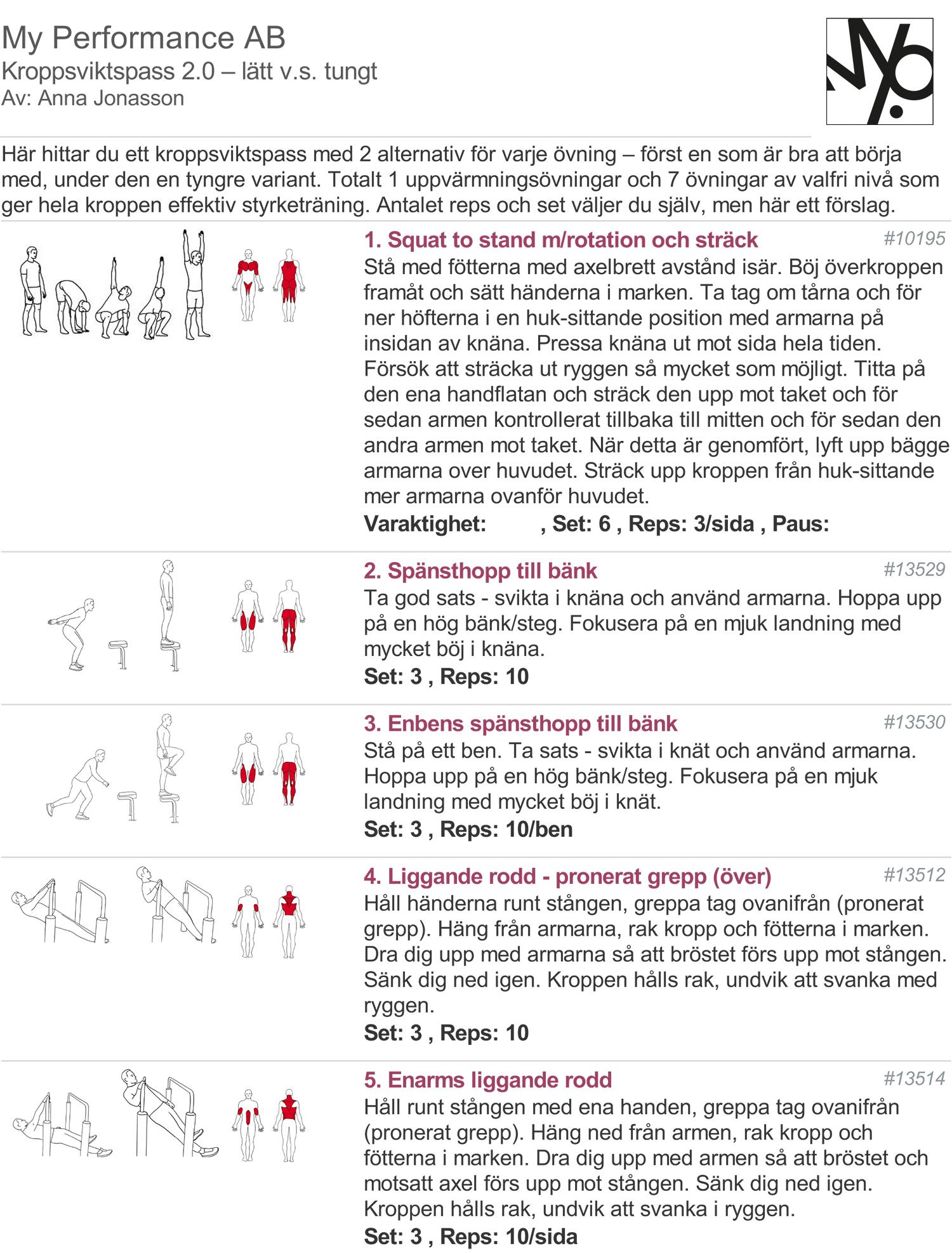 kroppsviktsprogram