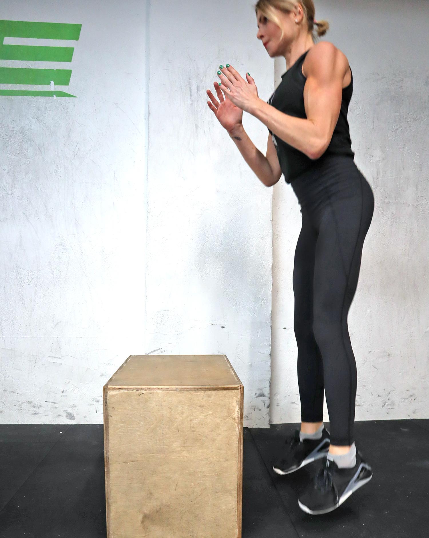 träningsskor boxjump