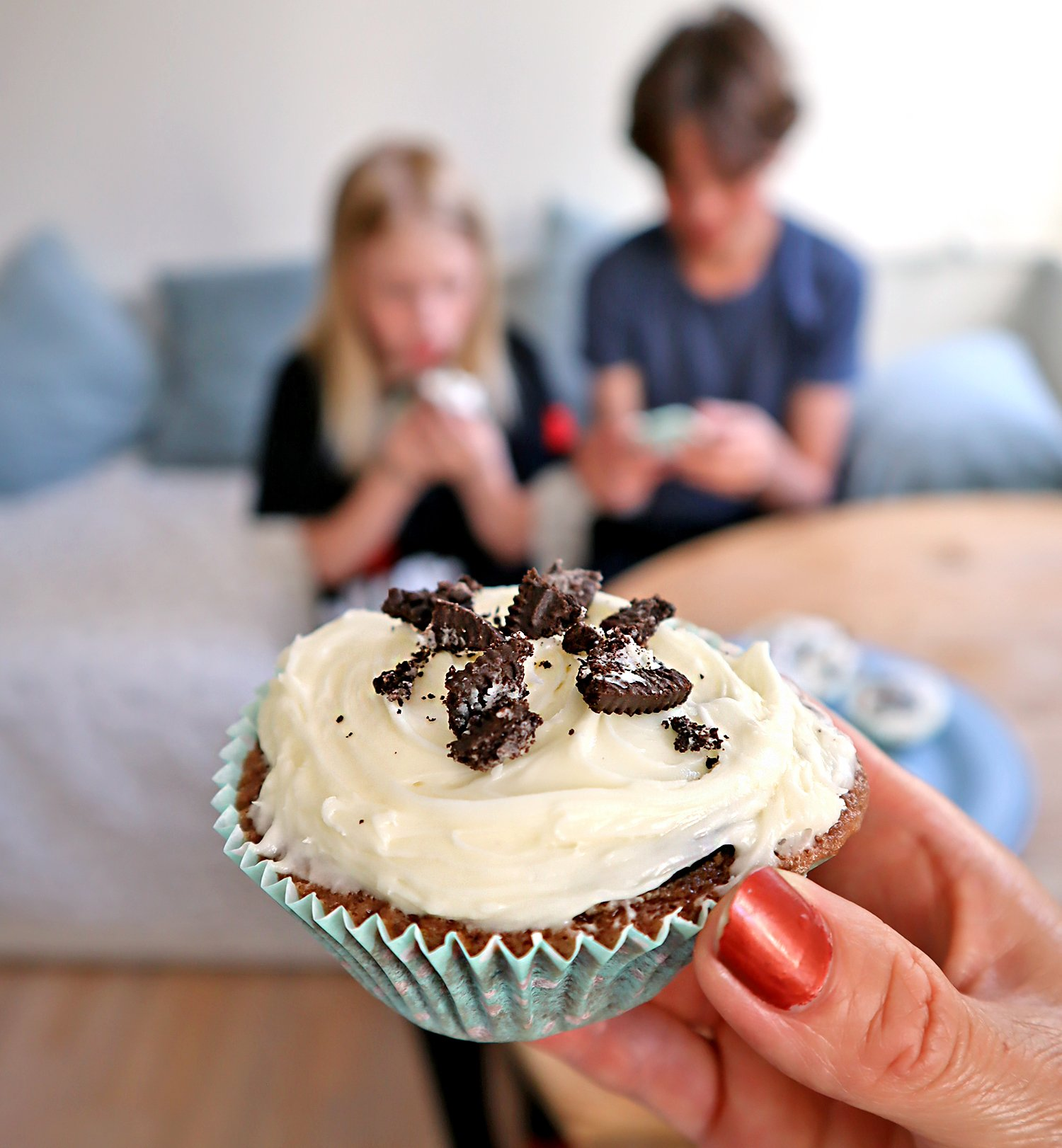 Cupcakes med vaniljfrosting