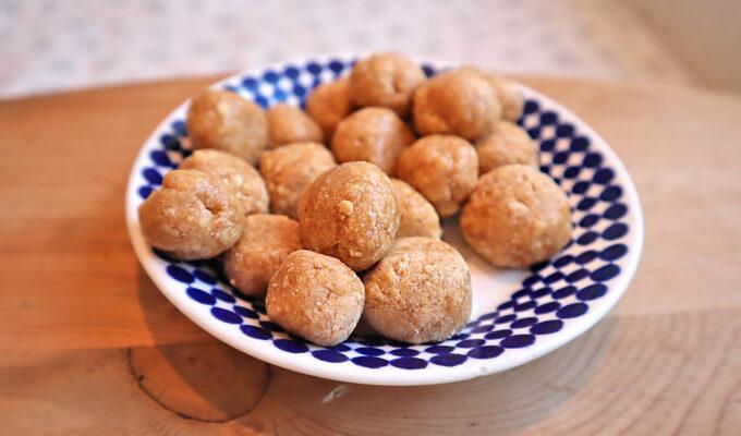 proteinrika jordnötsbollar