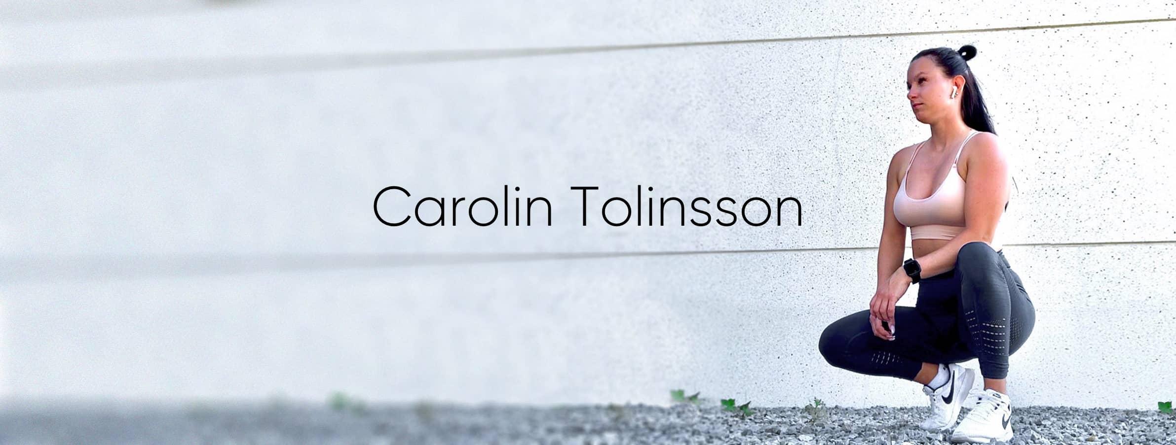 Carolin Tolinsson - Hälsa för både de inre och yttre